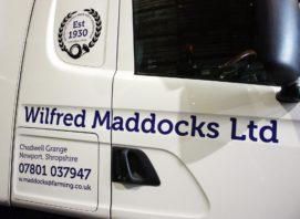Truck Signage Shropshire