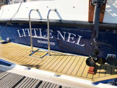 Boat Signage